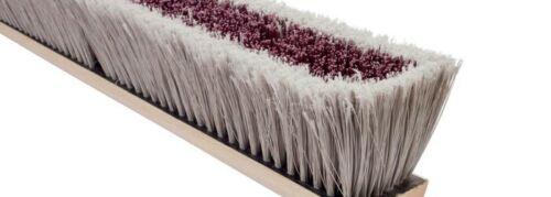 """Magnolia Brush #3530 30"""" Coarse BrownPlastic Center/SilverFlagged Plastic Broom"""
