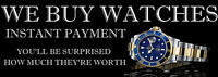 I Buy Watches Cash - J' Achete des Montres Contant