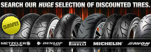 SAVE 35% OFF ALL MOTORCYCLE TIRES AND SAME DAY SERVICE!