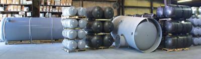 New 240 Gallon Horizontal Air Receiver Tank 200 Psi With Saddle Legs A10037