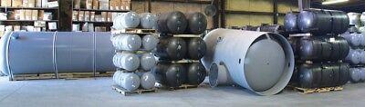 New 80 Gallon Vertical Air Tank W 4 Ft 13 X 30 Top Plate - 200 Psi- A10046