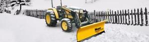 Brand New Meyer Tractor Snow Plow - Meyer Drive Pro, Lot Pro, Diamond Edge Snowplows for Compact Tractor Plows!