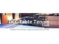 Welcome to DCC table tennis club!