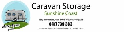 AFFORDABLE CARAVAN STORAGE SUNSHINE COAST (LANDSBOROUGH)