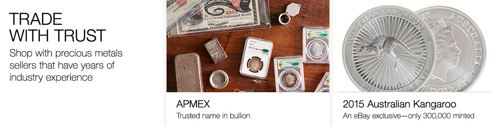 Trade with Trust | Shop with precious metals sellers that have years of industry experience.