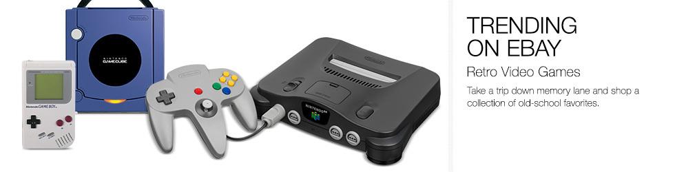 Trending on eBay | Retro Video Games | Shop now