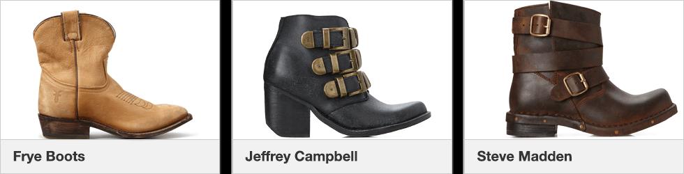 Frye Boots | Jeffrey Campbell | Steve Madden