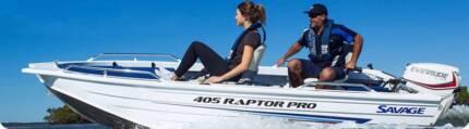 Savage 409 Raptor Pro Boat Package.