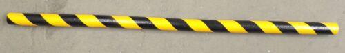 """KNUFFI EDGE BUMPER GUARD BLACK AND YELLOW, TYPE  B, 60-6712, 39 3/8"""" X 1 9/16"""""""