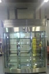 Chalon 3-door glass display fridge