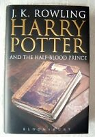 Harry Potter 6-7 hardback First Print