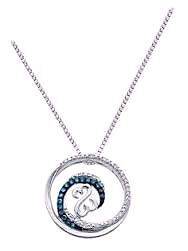 REDUCED$$ peoples blue diamond necklace London Ontario image 1