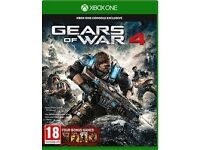 gears of war 4 and rise of the tomb raider xbox one games