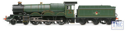 R3619 Hornby OO Gauge BR, Castle Class, 4-6-0, 5013 'Abergavenny Castle' -...