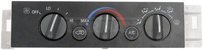 HVAC Control Module Front/Rear Dorman (Module Front)