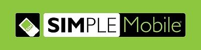 SIMPLE Mobile Unlimited Talk/Text/Web 4G Refill Card PIN $40