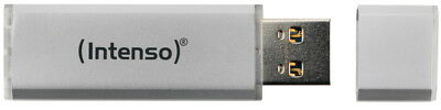 Intenso USB Stick 32GB Speicherstick Alu Line silber bulk