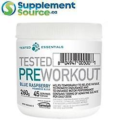 Tested Nutrition PRE WORKOUT (45 Servings), 260g