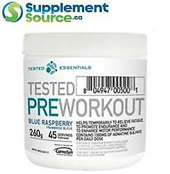 Tested Nutrition PRE WORKOUT (45 Servings), 260g - Fruit Punch