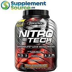 MuscleTech NITRO TECH WHEY ISOLATE, 4lb