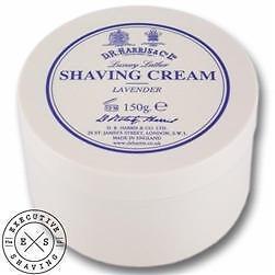 D.R. Harris Lavender Shaving Cream, DR-60202