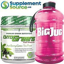 .Nova Forme CYTOGREENS, 60 Servings & HYDRATION JUG
