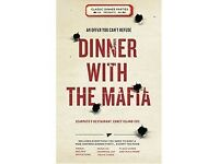 Dinner With the Mafia - Superb Role Play Dinner Party Game for Adults this Christmas!