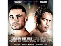 Frampton vs Donaire x 4 tickets