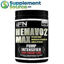 .           iForce HEMAVO2 MAX (Pre-workout), 25 Servings - Lemon Drop