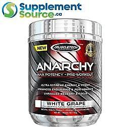 .     MuscleTech ANARCHY, 60 Servings
