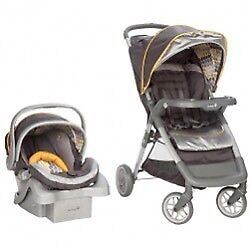 Graco combination set (stroller and car seat)