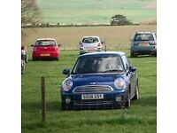 Low Mileage 2008 Mini Cooper with panoramic sun roofs