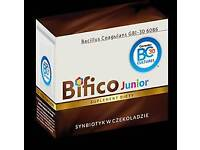 Bifico a synbiotic in chocolate