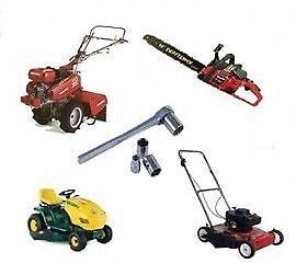 Mowers blowers trimmers saws and other small engine repair