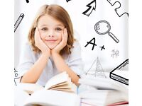 Maths, English and Science. Primary Tuition
