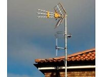 Sky & Digital aerial installations & repairs, tv wall mouting specialists. Aerials from £70