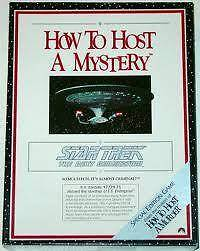 """1990 STAR TREK THE NEXT GENERATION """"HOW TO HOST A MYSTERY"""" Greenwood Joondalup Area Preview"""