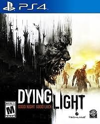 Dying Light PS4 Game,Used,Good Condition