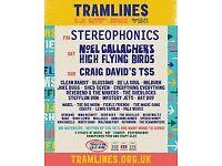 5 x weekend tickets for Tramlines Festival - July 2018