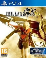 Final Fantasy Type 0 - PS4
