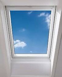 Brand New Skylight Duratech APX M8A B700 780x1400 White uPVC Centre Pivot Roof Window & Flashing Kit