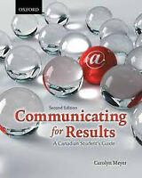 COMMUNICATING FOR RESULTS TEXTBOOK FOR SALE