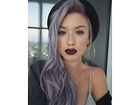 Looking for Grey/Metallic hair