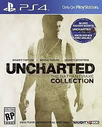 UNCHARTED REMASTERED UNOPENED BRAND NEW PS4