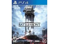 Star Wars Battlefront PS4 great condition barely used