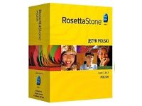 Rosetta Stone Polish Level 1, 2, 3