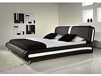 5FT FLORIDA KING SIZE BED FRAME WITH 10 inch MEMORY SPRUNG MATTRESS