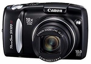 Canon PowerShot SX130IS 12.1 MP Digital Camera with 12x Wide Angle Optical Image Stabilized Zoom, 3.0-Inch LCD - $ 149