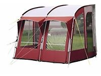 Royal Wessex 260 awning burgundy