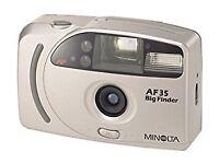 Minolta AF50 Big Finder 35mm Point And Shoot Film Camera- Excellent Condition